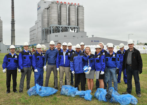 Tree Planting at Indorama Ventures Poland on World Environment Day